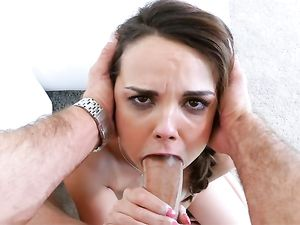 Young Fuck Slut With D Cups Loves His Big Dick