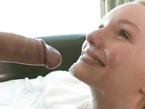 Perfect Blonde Teen Cutie Fucks A Big Cock Guy