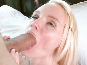 Perfect Blonde Teen Cutie Fucks A Big Cock Guy