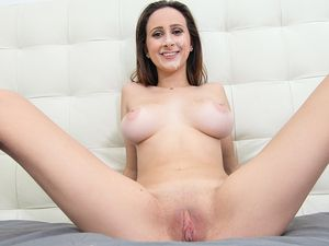 Natural Boobs And A Nice Ass On The Fuckable Slut