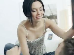 Erotic Foreplay With A Breathtaking Teenage Girl