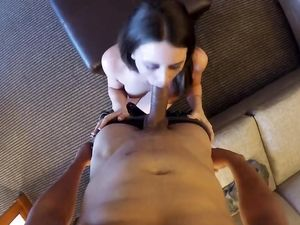 Curvy Escort Does An Outcall For Great POV Fucking