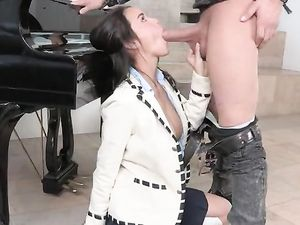 Dick Sucking Dillion Harper Wants A Good Fucking Too
