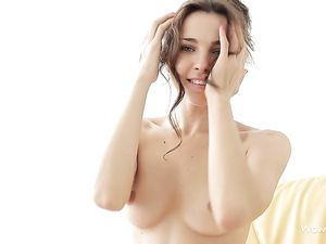 Dreamy Solo Teenager With Glorious Perky Tits