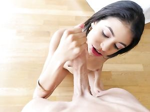 Latina Loves Huge Dick And He Fills Her Up With His