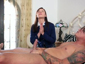 Anal Sex For The Bible Loving Schoolgirl