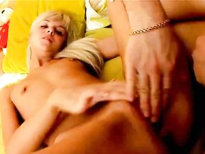 Teenager Spread Wide For Big Cock In Her Cunt
