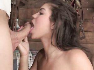Teen Hardcoresex mit langem dong Mädchen
